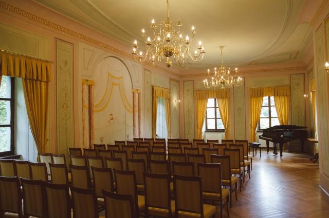 Velika baročna dvorana s freskami